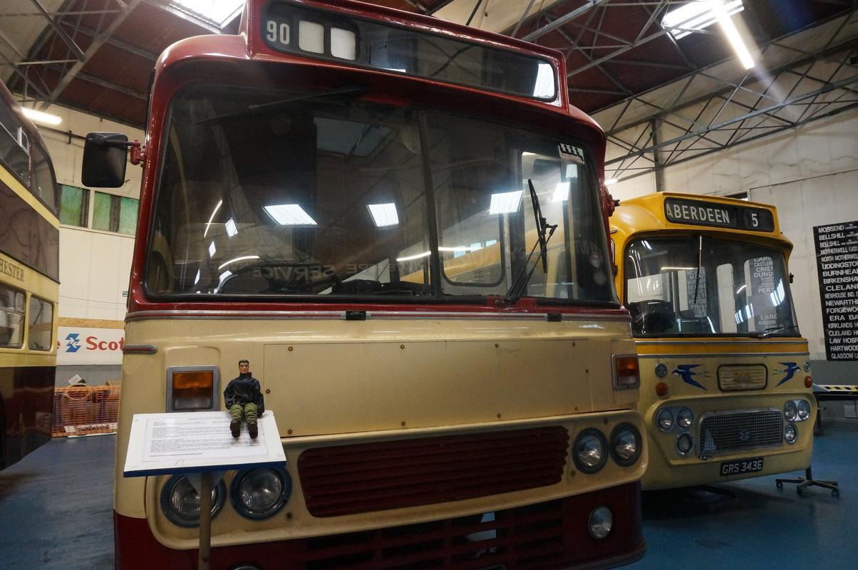 MAM visiting The Scottish Vintage Bus Museum. D208_D6_CC-8_FD9-40_F7-8_F16-70_A875390_BC2