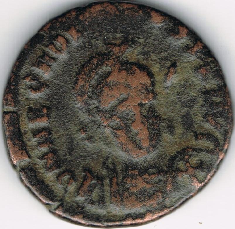 AE3 de Arcadio. CONCORDI-A AVGG. Constantinopolis de frente. Nicomedia. IR52_A