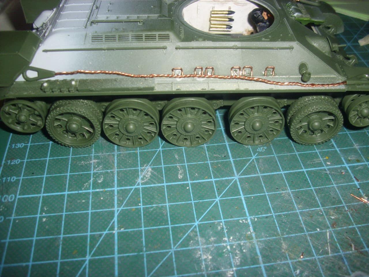 T-34/76 1943 early model. ICM 1/35 - Sida 4 DSCI0644