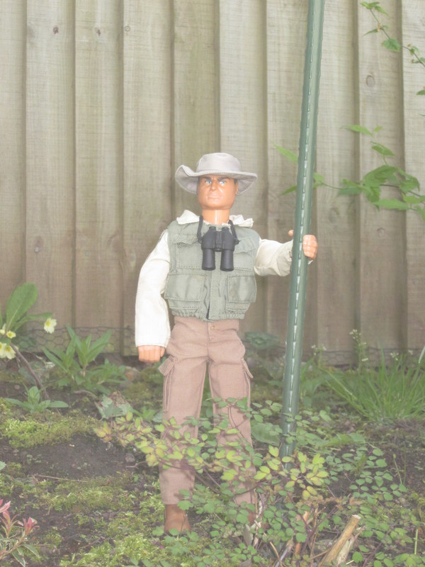 One of my old Action Men I don't have any more in my garden (Ackie88) IMG_1414