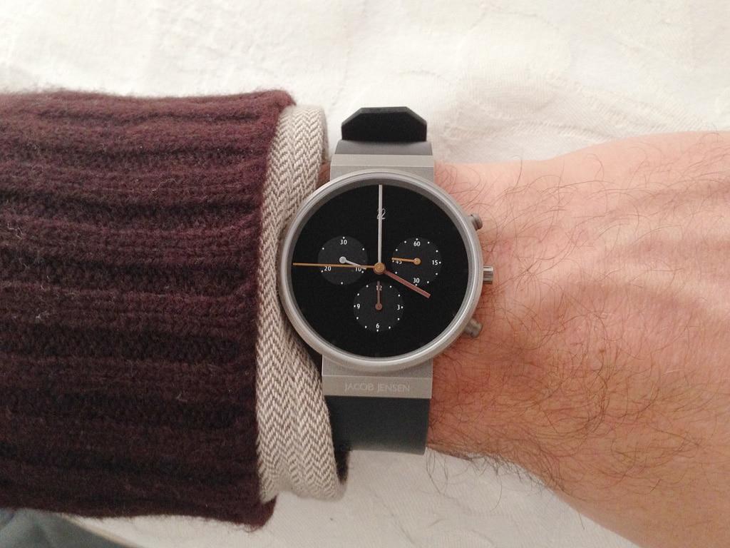 [Vendo] Relógio Jacob Jensen Chronograph 600 Titanio - Quase Novo 1_IMG_5993