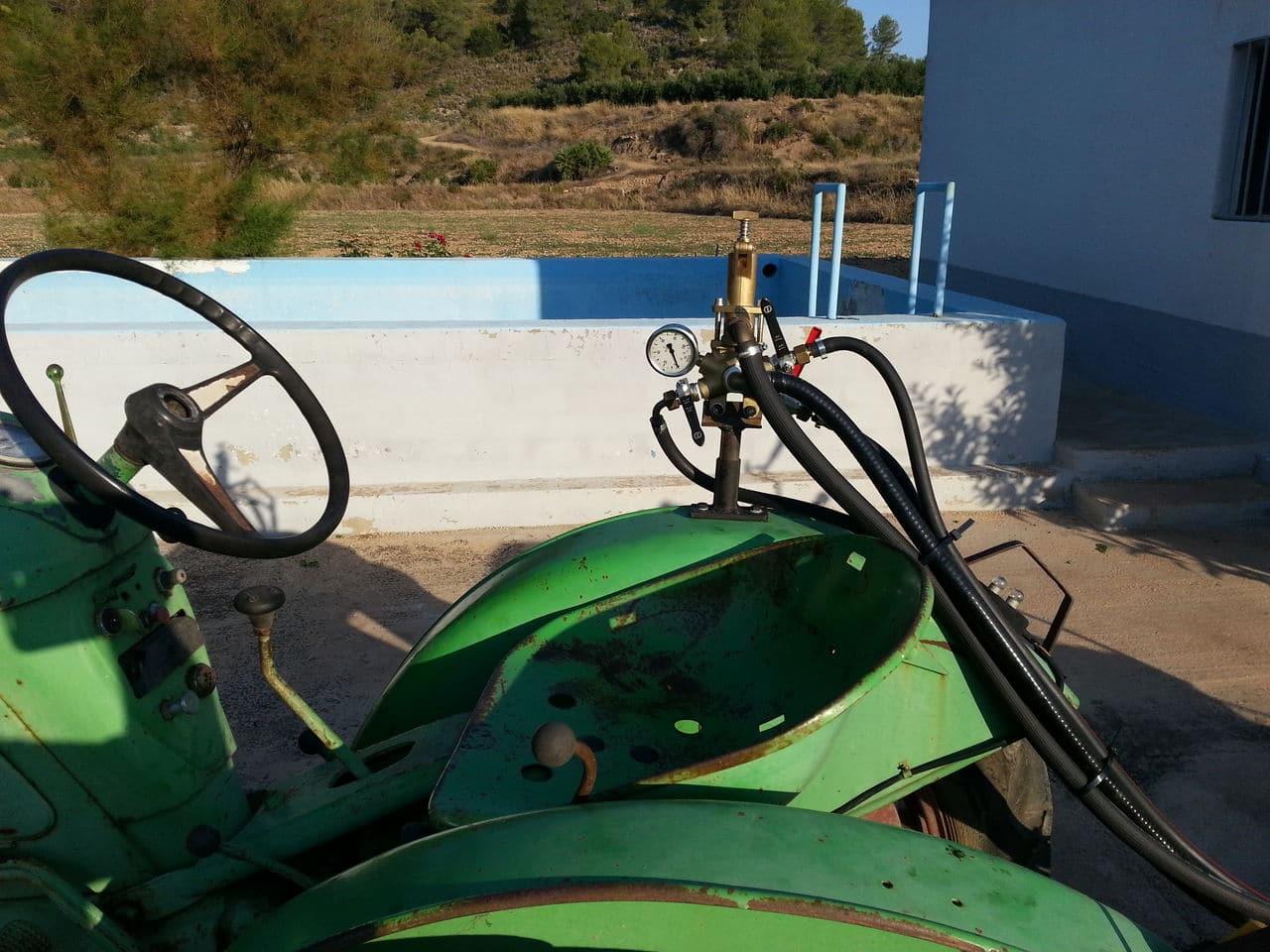 Restauración de una cuba de 600 litros para pasar la Inspección de Equipos de Aplicación de Fitosanitarios Cuadro_Mandos