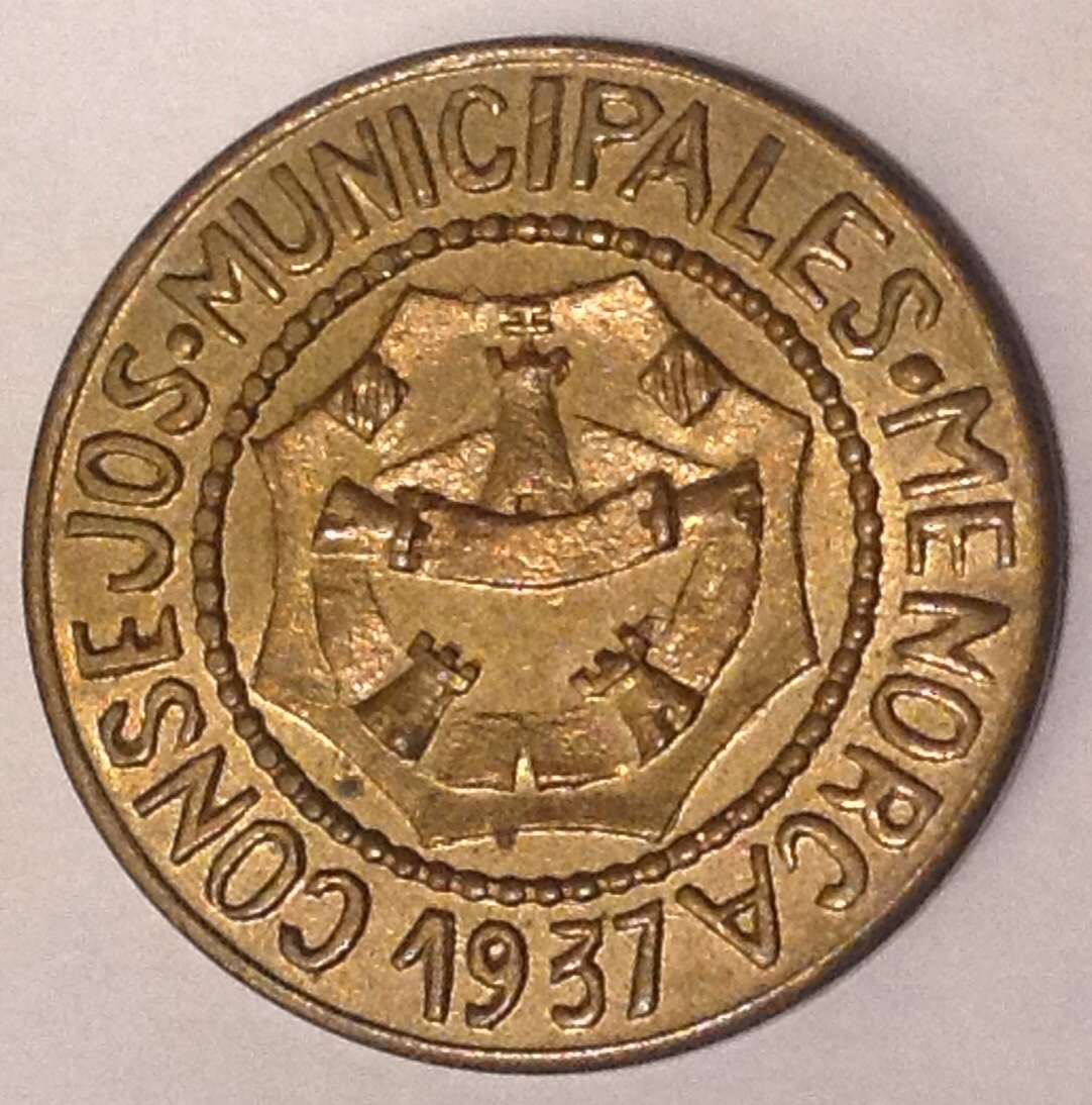 ¿Cuántas monedas componen la serie de Menorca completa? Image