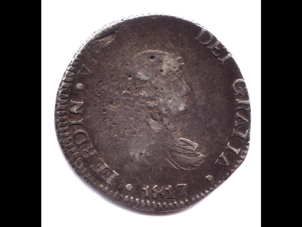 8 reales 1817 MZ. Fernando VII. Durango Image