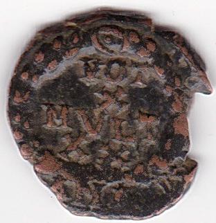 AE4 de Teodosio I. VOT / X / MVLT / XX dentro de corona. Antioch. IR233_B