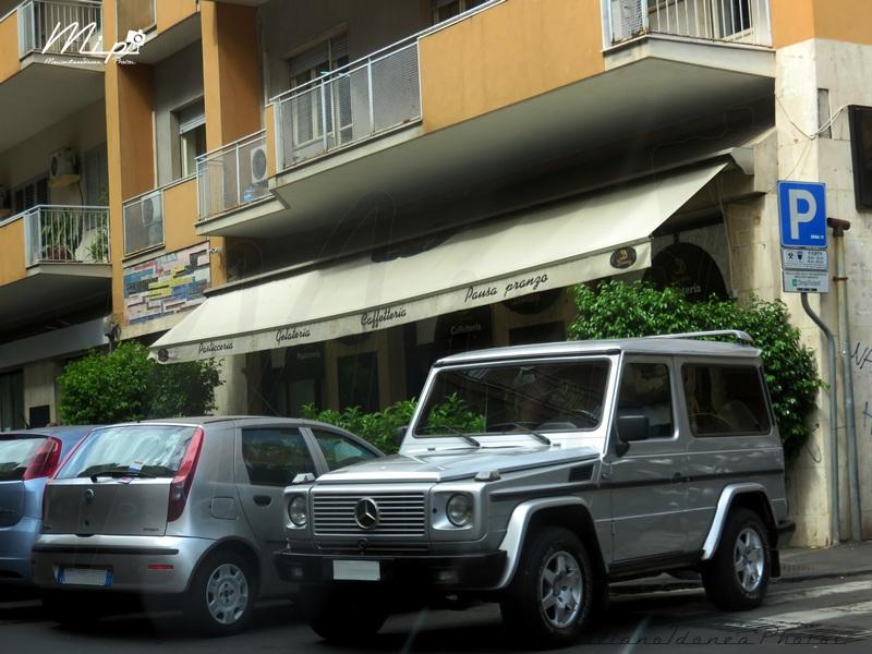 avvistamenti auto storiche Mercedes_W463_G_350_TD_3.5_93_AY663_FN_303.495_-_11-09-2017