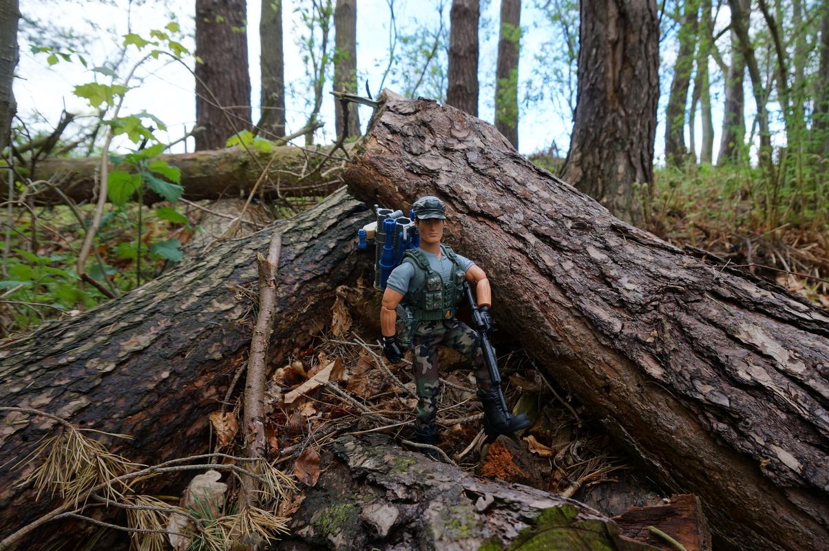 My Action Man Mortar Combat Mission Raid Random Woodland Photos DSC00694
