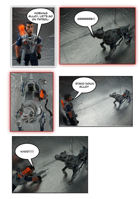 handyman repairing Action Man's Robot Dog Part 2. Page_1