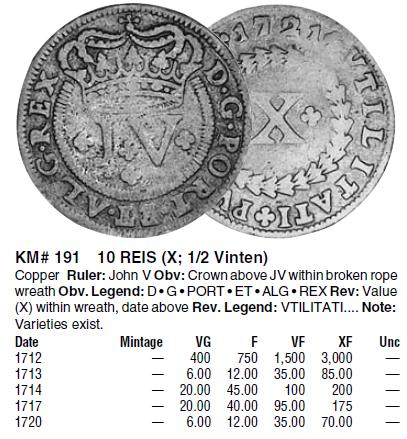 moneda portuguesa Krause_10_reis