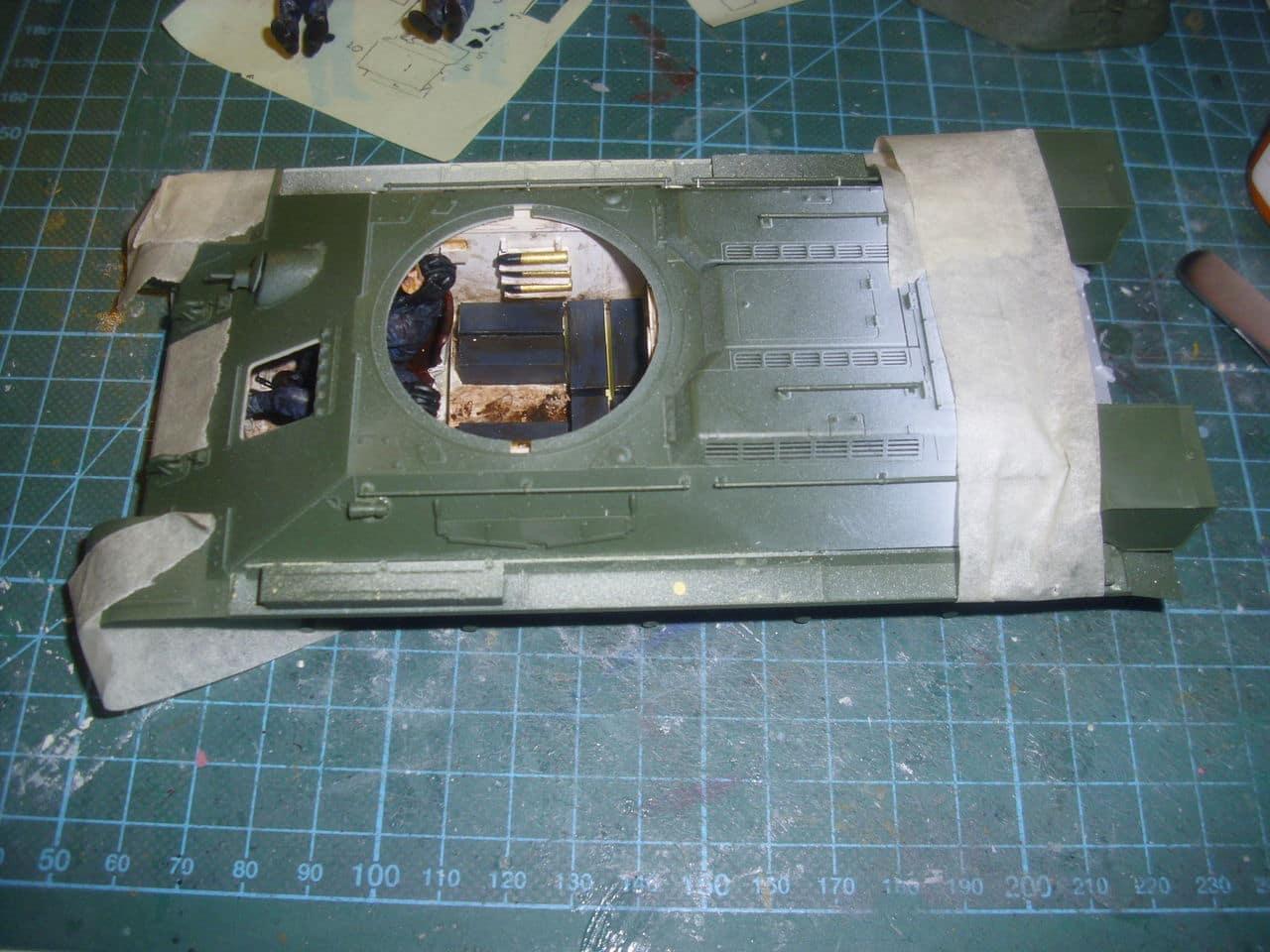 T-34/76 1943 early model. ICM 1/35 - Sida 4 DSCI0629