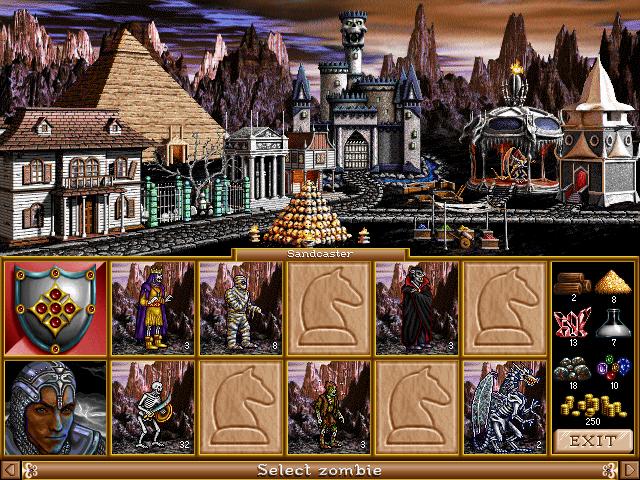 Heroes 2 Museum (beta content, concept art, promo screenshots) 34076