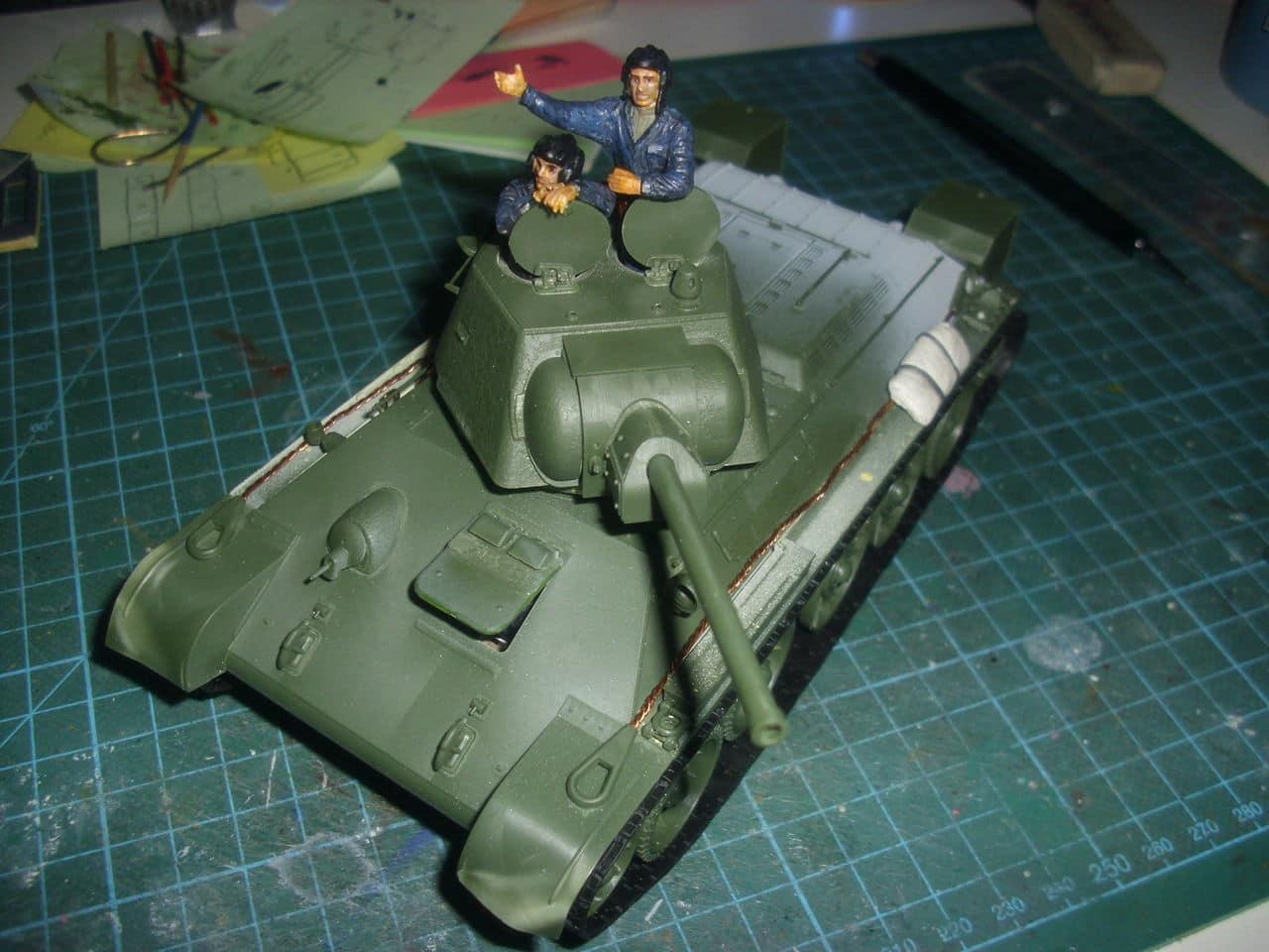 T-34/76 1943 early model. ICM 1/35 - Sida 4 DSCI0660