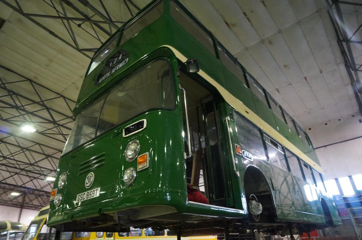 MAM visiting The Scottish Vintage Bus Museum. 45_FF8546-_A71_B-4_E4_C-9871-_E8215_E24_F125