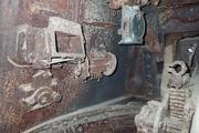 Танк КВ-1 изнутри (№ 9854), Ропша, Ленобласть. P6230059
