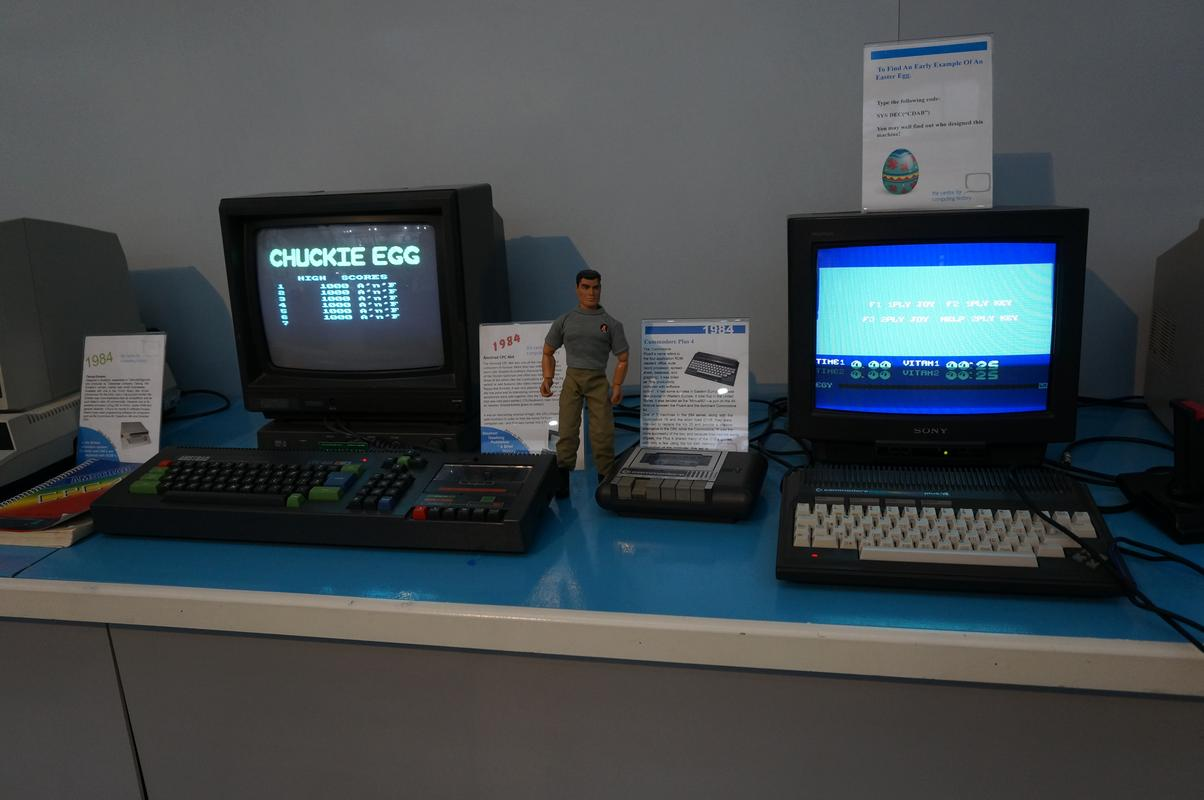 My MAM visiting  Cambridge Computer History Museum. E7_DD3_E03-_A419-4_EA6-892_F-31_F0_DDE968_A1