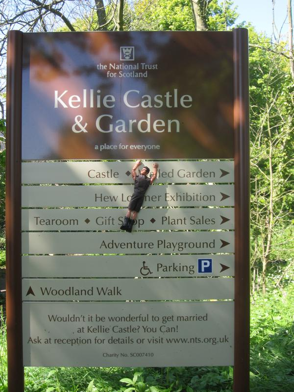 My Action Man trip to Kellie Castle and the Gardens. (Ackie88)  IMG_0313