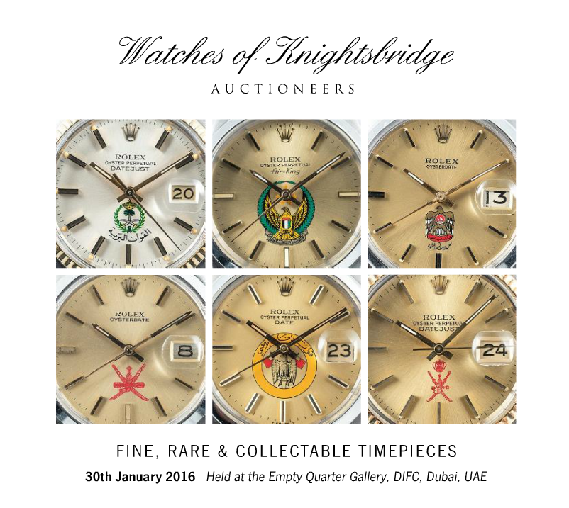 Catálogo - Watches of Knightsbridge: Modern and Vintage Timepieces – Janeiro 2016 WOK_FINE_RARE_COLLECTABLE_TIMEPIECES_300116