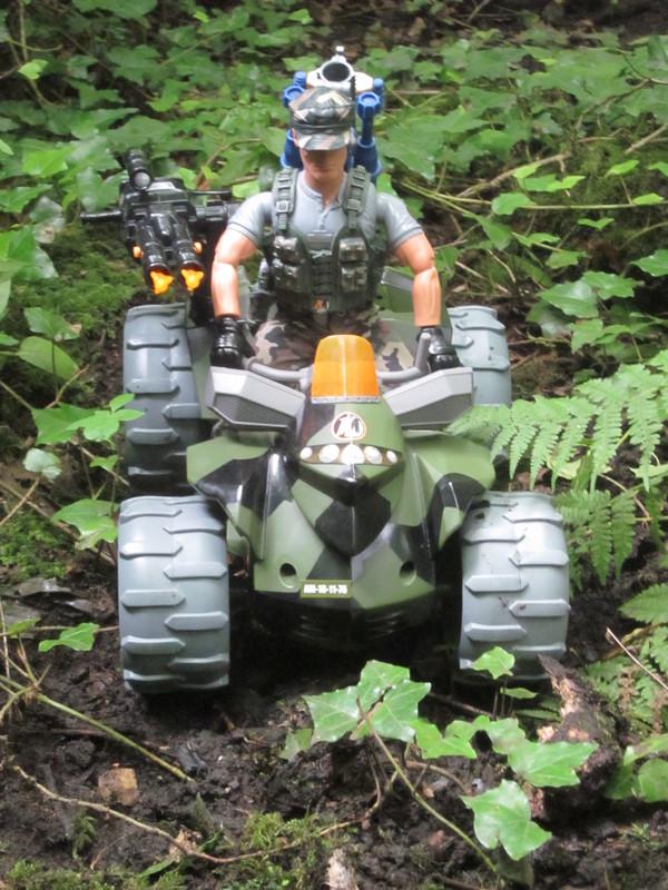 Action Man Quad Assault Woodland Random Photos. IMG_4337