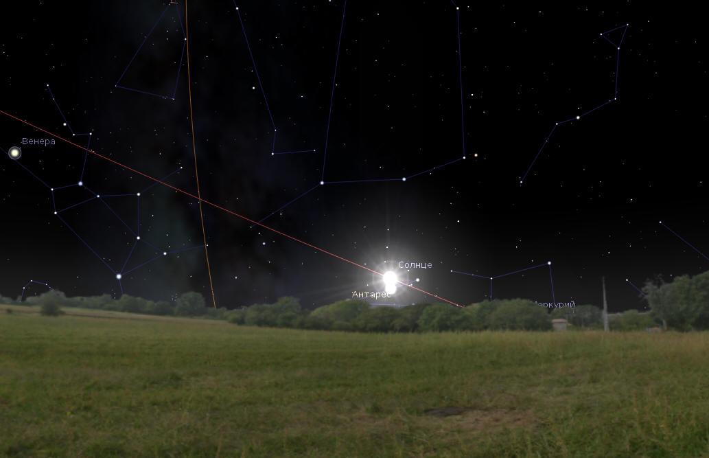 Восстановление Сакрального Календаря (общими силами) Stellarium