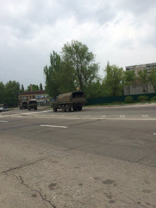 Lviv -  Ukraine crisis. News in brief. Monday 02 May [Ukrainian sources]  Lugtruck