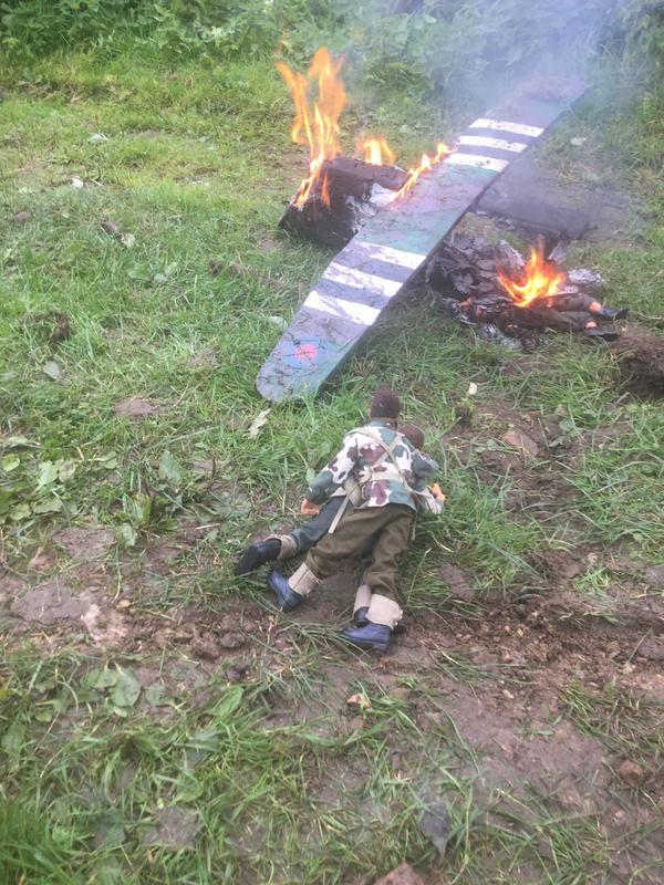 Crash landing..!!!   Operation market garden. Episode 1 IMG_5833