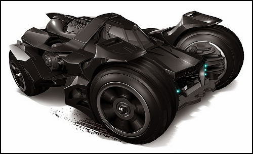 Ficha de Batman Batmobile