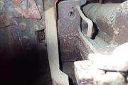 Танк КВ-1 изнутри (№ 9854), Ропша, Ленобласть. P6230077