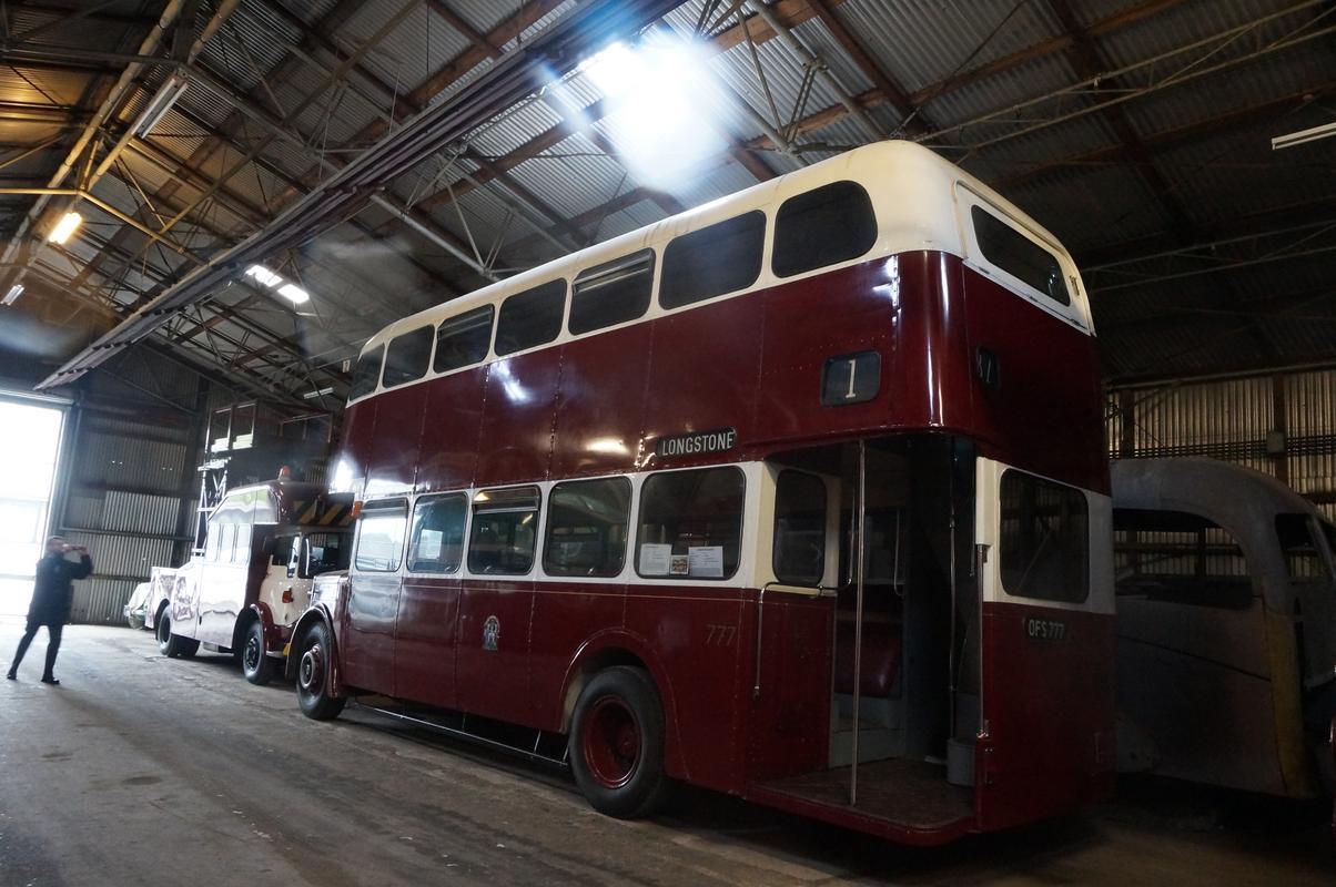 MAM visiting The Scottish Vintage Bus Museum. 16_C068_DA-3430-4_E20-_B040-3_BBE89_E5_F2_E2