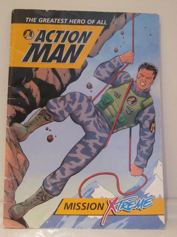 Action Man annuals and books IMG_4223