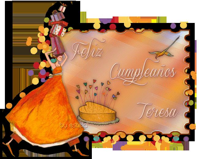 FELIZ CUMPLEAÑOS TERESA/8 /DE ABRIL / 2018 Teresa2018a