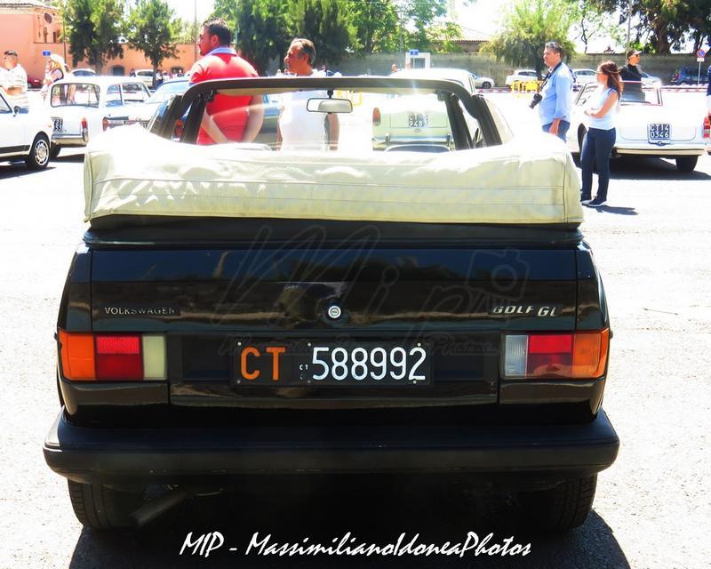 1° Raduno Auto d'Epoca - Gravina e Mascalucia Volkswagen_Golf_Cabriolet_GL_1.1_82_CT588992_6