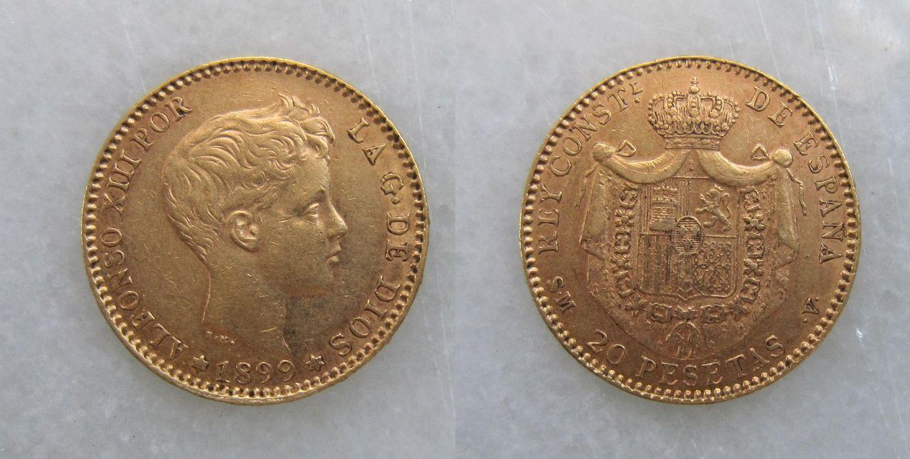 20 pesetas 1899. Madrid. Alfonso XIII (S.M.V.) 20_pesetas_Alfonso_XIII_1899