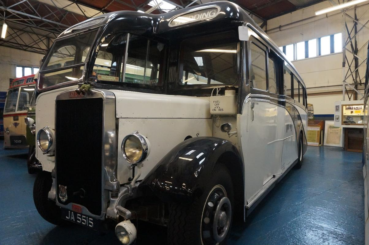 MAM visiting The Scottish Vintage Bus Museum. 7_AD468_EA-9469-46_E6-_A759-1121155_A893_E