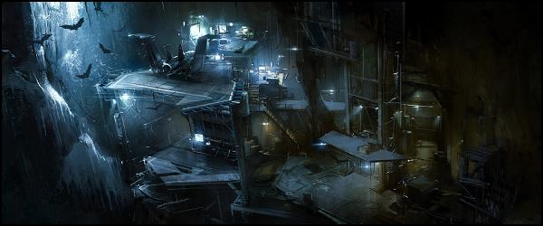 [Información] Mansión Wayne/Batcueva Batcave_Paisaje