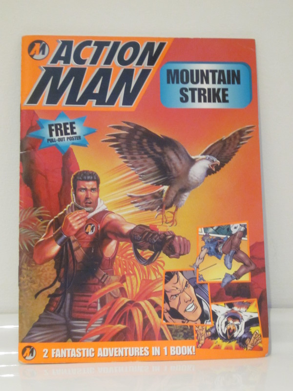 Action Man annuals and books IMG_3969