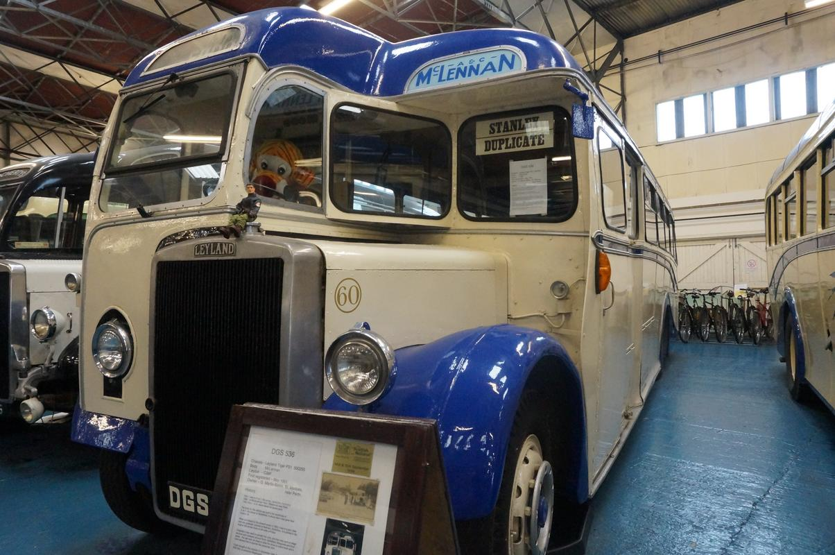 MAM visiting The Scottish Vintage Bus Museum. B69521_A8-1_E04-4_C4_F-_A3_B8-8531_A5_F46_C7_B