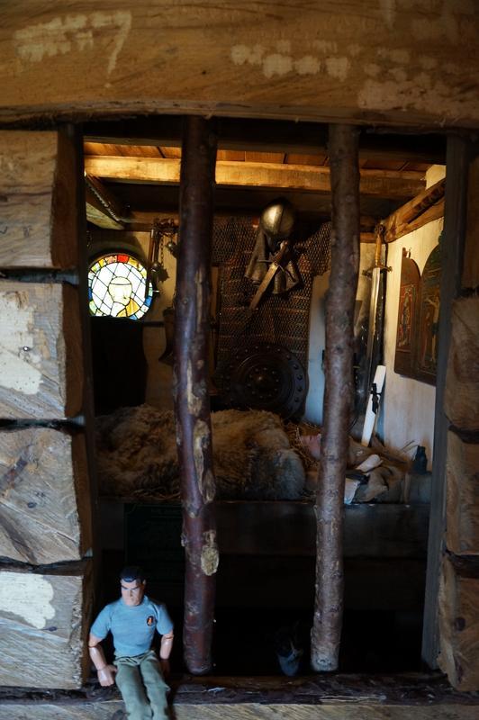 My MAM visiting Mountfitchet Castle. 3_D7_A64_B9-6566-45_F3-9_F51-_D0_E588_EAD133
