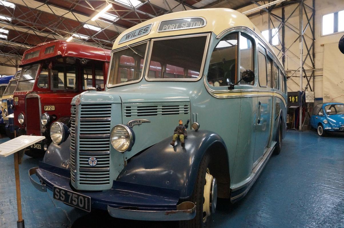 MAM visiting The Scottish Vintage Bus Museum. 2_A852_B73-2360-4_EB7-9_C19-5064_A0_BCFBFC