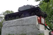 Танк КВ-1 изнутри (№ 9854), Ропша, Ленобласть. P6230366
