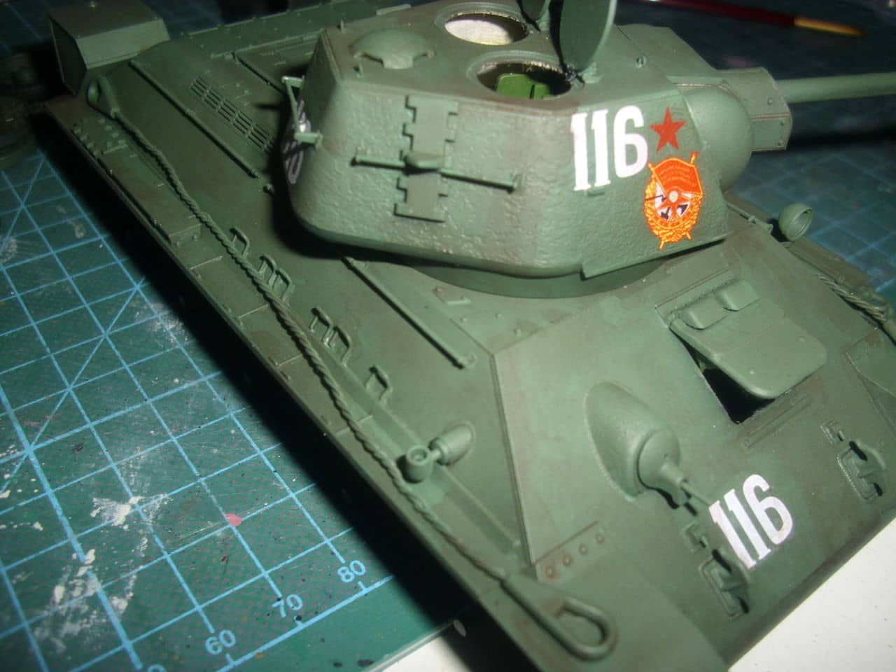 T-34/76 1943 early model. ICM 1/35 - Sida 4 DSCI0739