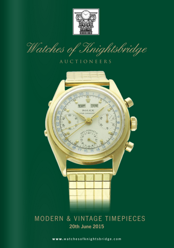 Catálogo - Watches of Knightsbridge: Modern and Vintage Timepieces – Junho 2015 WOK_Modern_and_Vintage_Timepieces_200615