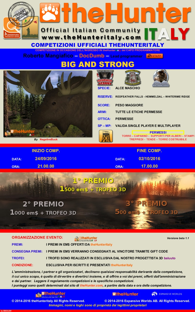 [CONCLUSA] Competizioni ufficiali TheHunteritaly - Big and Strong ed. EW staff - Alce OCCASIONE_BIG_AND_STRONG_ALCE_Mangiafico