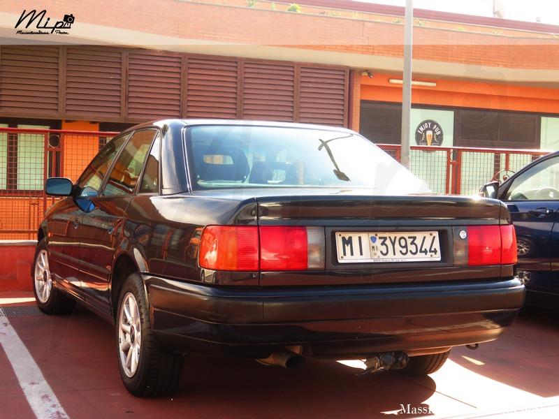 avvistamenti auto storiche - Pagina 3 Audi_100_2.0_140cv_93_MI3_Y9344_240.000_-_04-07-2017_1