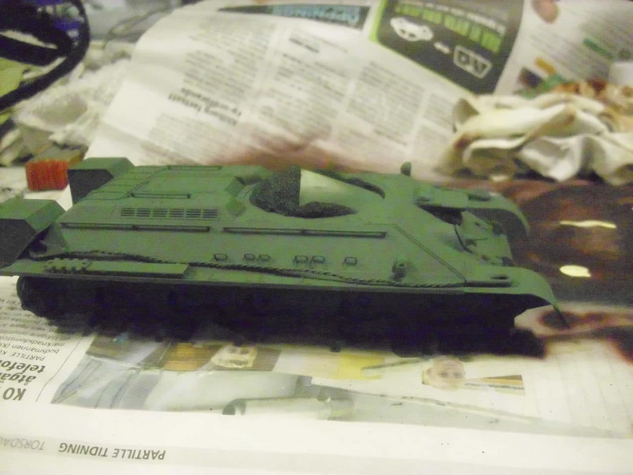 T-34/76 1943 early model. ICM 1/35 - Sida 4 DSCI0679