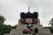 Танк КВ-1 изнутри (№ 9854), Ропша, Ленобласть. P6230025