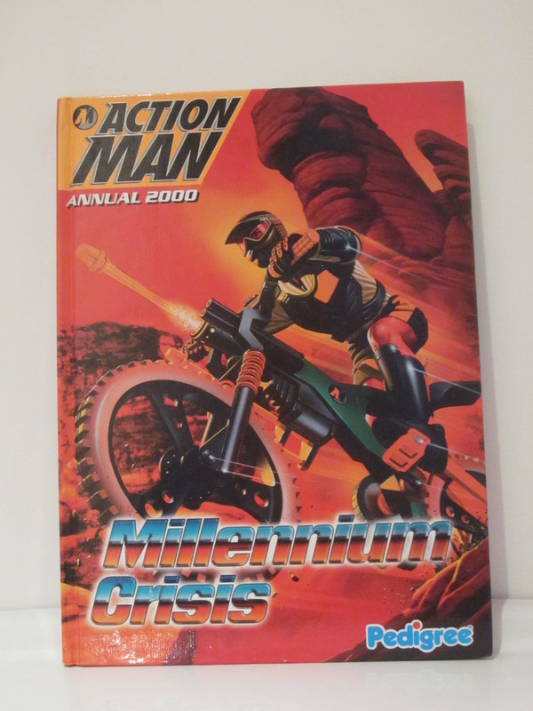 Action Man annuals and books IMG_3924