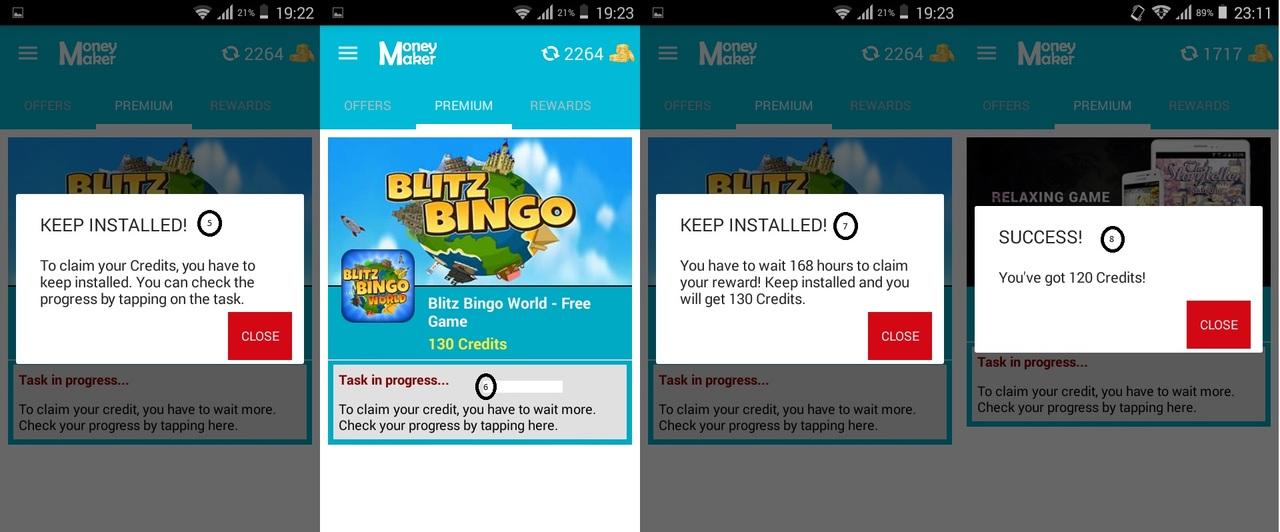 OPORTUNIDADE [Provado] Money Maker Cash App - Ganha Instalando Apps, Vendo Vídeos e Check-in Diário - RECEBIDOS $ 32,00 + € 2,00 SSB_MMaker