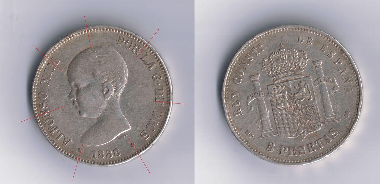 5 pesetas 1888 Alfonso XIII - Página 3 1888_36_perlas