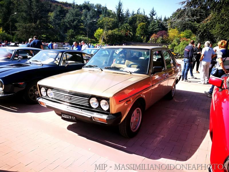 Passeggiata d'Autunno, Pedara (CT) Fiat_131_S_Mirafiori_CT420528_1