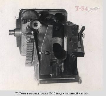 Л-10 - 76-мм танковая пушка обр. 1938 г. 89QVL